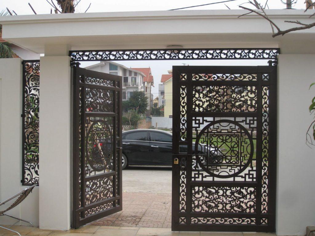 cổng tự động biệt thự