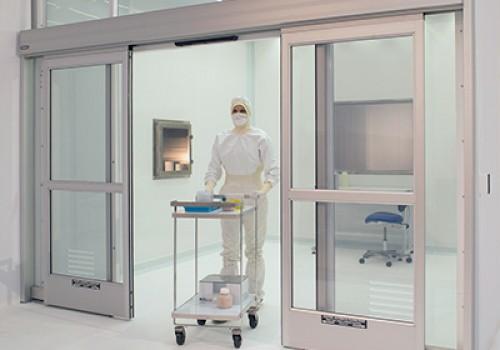 cửa tự động phòng sạch bệnh viện
