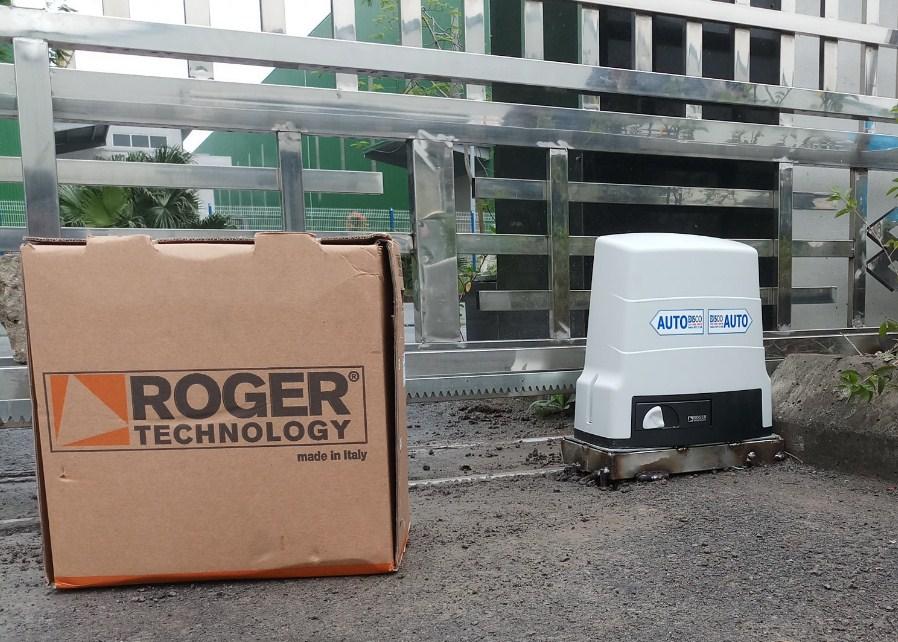 Motor cửa trượt tự động Roger